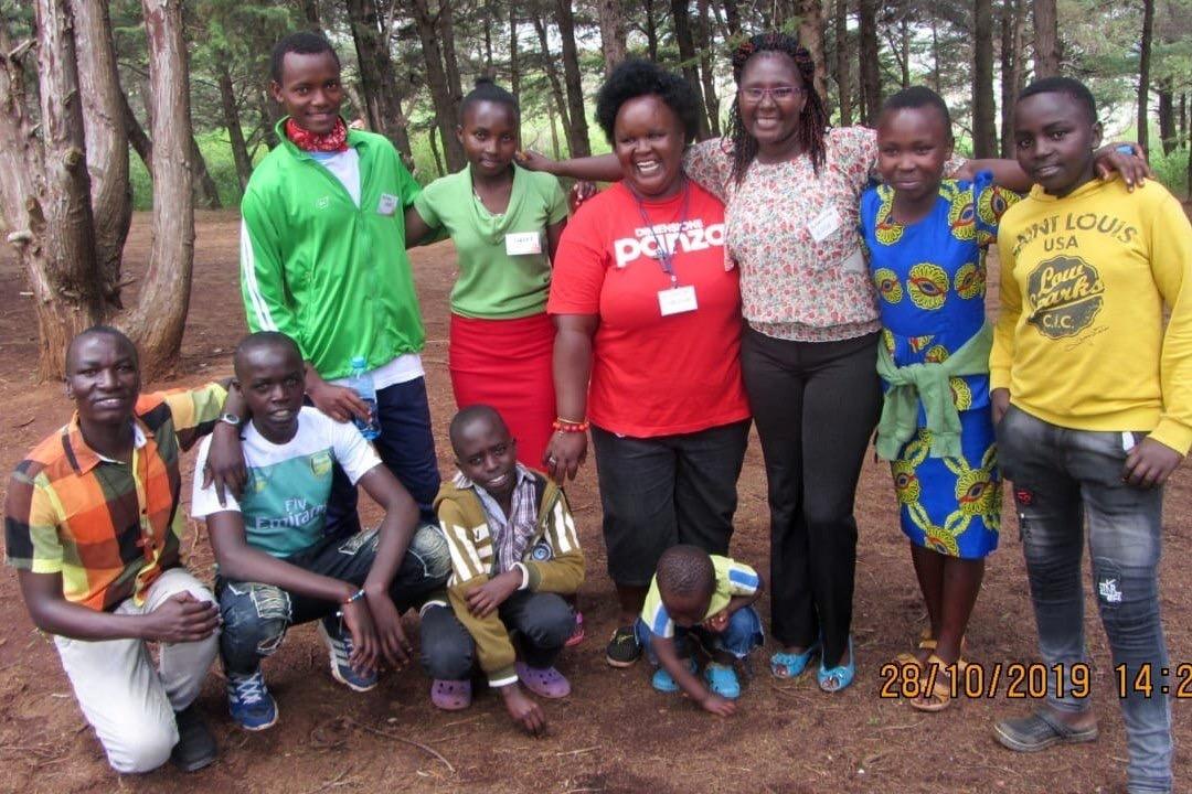 Oaza w Kenii